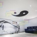 арт печать на натяжном потолке