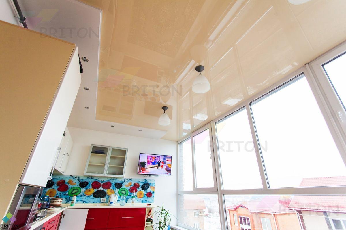 натяжгной потолок на кухню