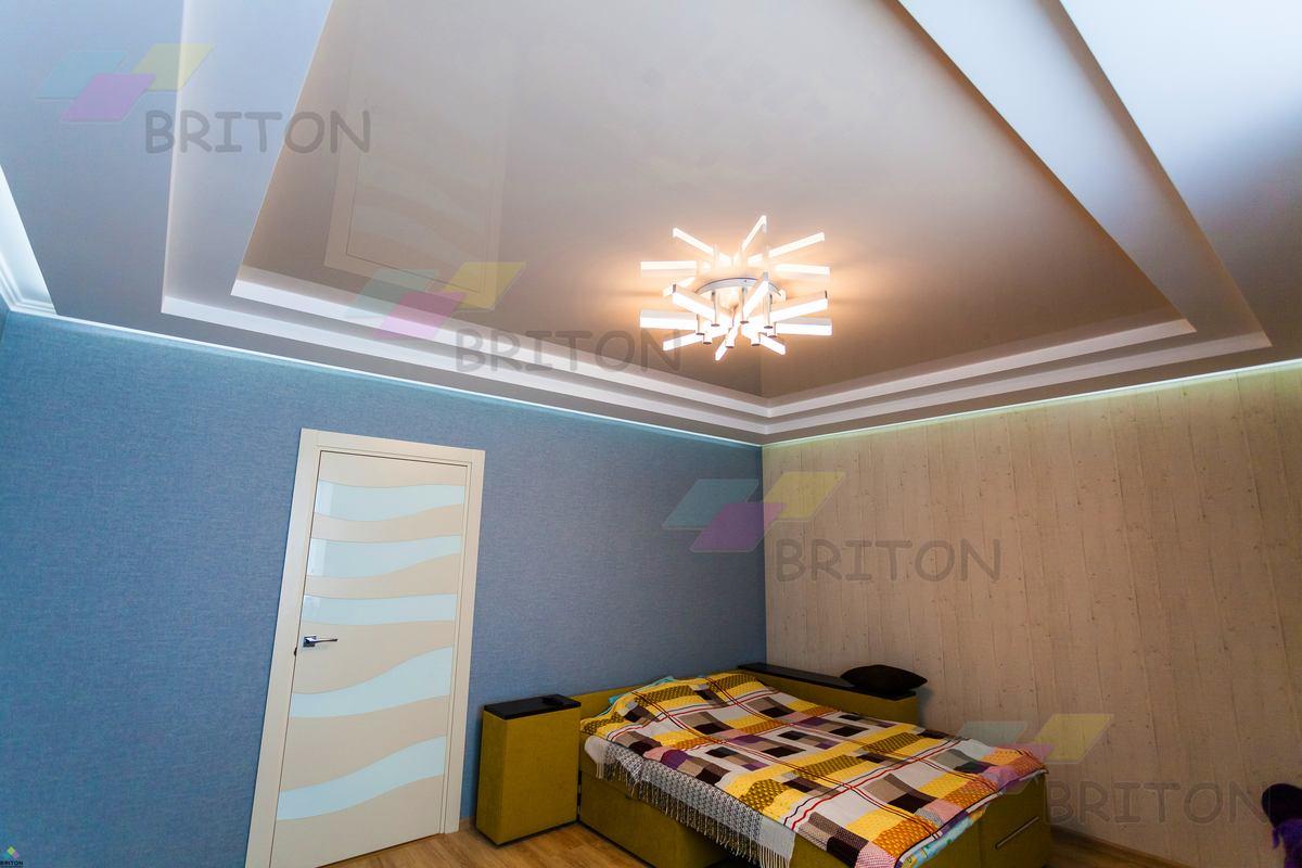 потолочные плинтуса натяжной потолок