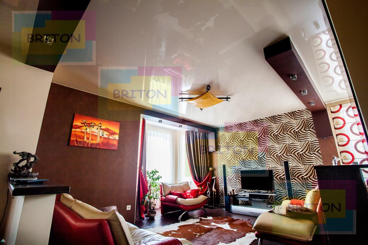 интерьер и натяжной потолок