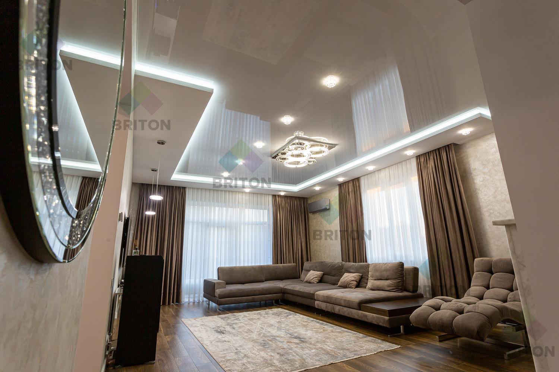 натяжной потолок установить в квартире