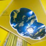 небо натяжной потолок Натяжна стеля від виробника, натяжні стелі і комплектуючі, доставка по Україні монтаж у Хмельницькому